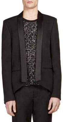 Saint Laurent Shawl Lapel Wool Jacket