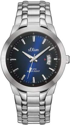 S'Oliver Men's Quartz Watch SO-2823-MQ with Metal Strap