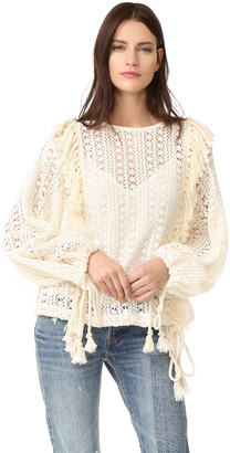 See by Chloe Crochet Lace Top $365 thestylecure.com