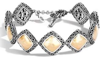 John Hardy Classic Chain Heritage Quadrangle Bracelet