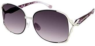 Southpole Women's 453sp-slvgy Rectangular Sunglasses