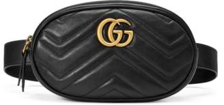Gucci GG Marmont matelassé leather belt bag