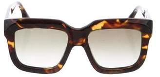 Victoria Beckham Tortoiseshell Square Sunglasses w/ Tags