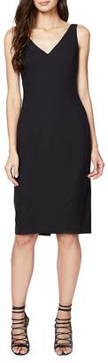 Rachel Roy Women's Back-Slit Sleeveless Solid Dress