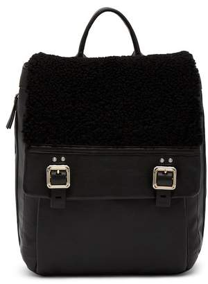 Vince Camuto Delos Genuine Shearling/Leather Backpack