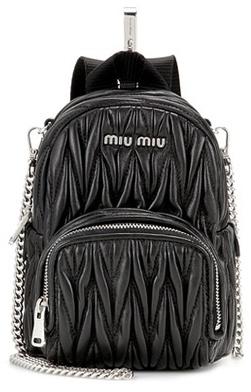 Miu MiuMiu Miu Matelassé leather shoulder bag