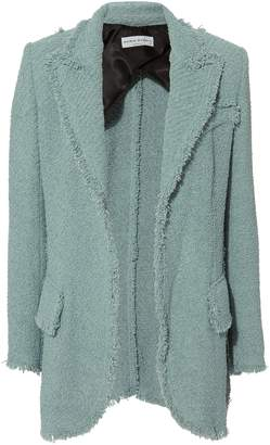 Sonia Rykiel Terry Tweed Oversized Blazer