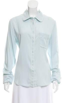 Piamita Isabella Button-Up Top