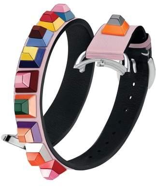 Fendi Selleria 17mm Strap You Leather Watch Strap