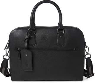 Ralph Lauren Pebbled Leather Briefcase