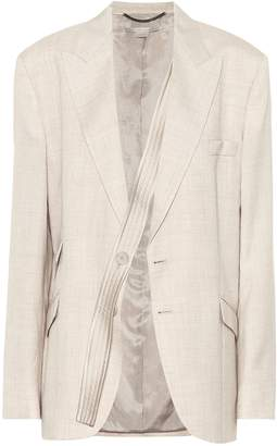 Stella McCartney Linen-blend blazer