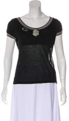 Marni Embellished Short Sleeve T-Shirt