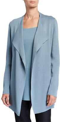 Eileen Fisher Plus Size Open Interlock Jacket
