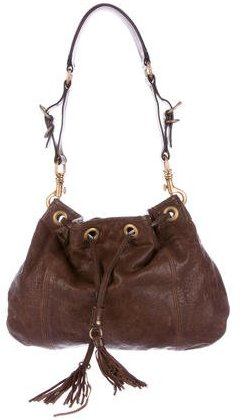 Miu Miu Miu Miu Textured Leather Hobo