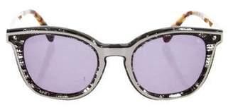 Rebecca Minkoff Tortoiseshell Tinted Sunglasses