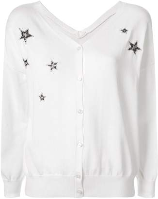 GUILD PRIME beaded star cardigan