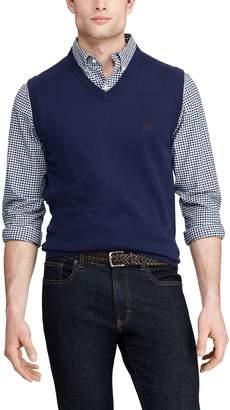 Chaps Big & Tall V-Neck Sweater Vest
