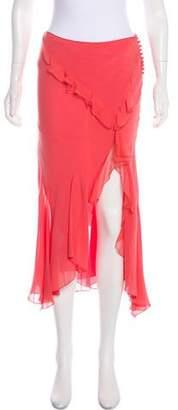 Christian Dior Silk Ruffle Skirt w/ Tags