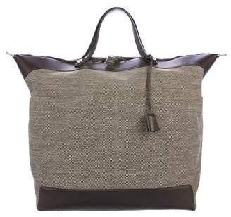 Hermes Toile Calèche Express Weekend Bag