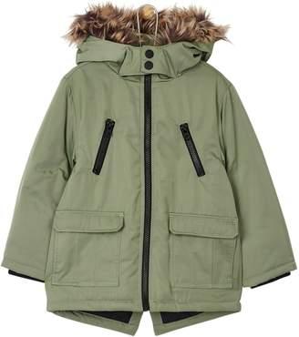 999635fd2 Boys Parka With Fur Hood - ShopStyle UK