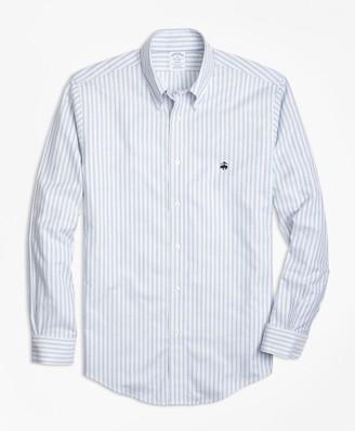 Brooks Brothers Non-Iron Regent Fit Thin Stripe Sport Shirt