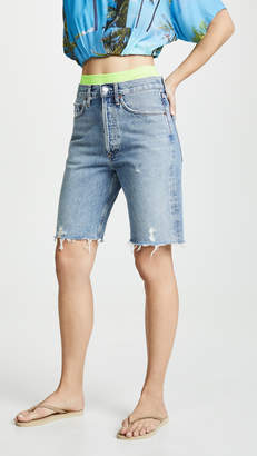 A Gold E AGOLDE Mid Rise 90's Loose Shorts