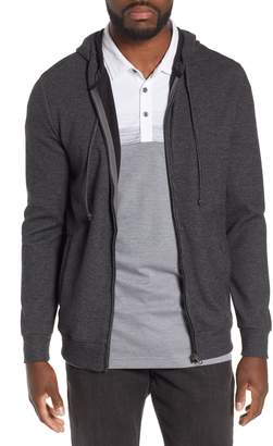 Travis Mathew Snare Zip Front Hooded Cardigan