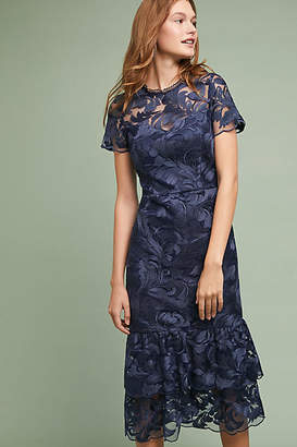 Shoshanna Tiered Lace Dress
