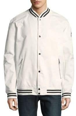 Karl Lagerfeld Paris Raglan Bomber Jacket