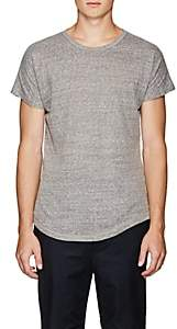 Chapter MEN'S SLUB COTTON-BLEND JERSEY T-SHIRT-GRAY SIZE L