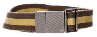 Gucci Adjustable Web Belt