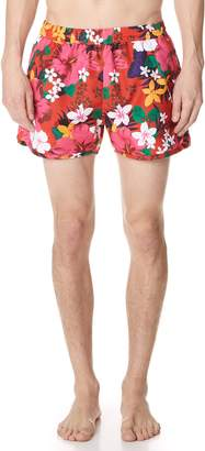 Ami Floral Swim Trunks