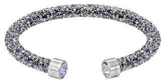Swarovski Crystal Dust Studded Crystal Cuff Bracelet