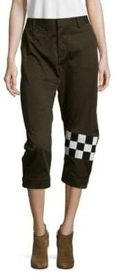 DSQUARED2 Cotton Cropped Pants