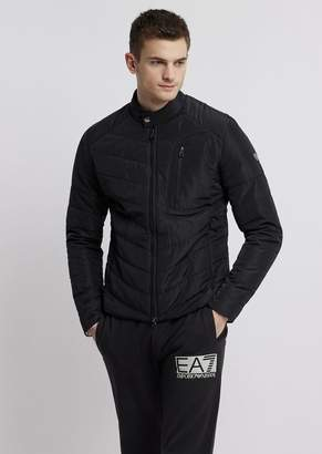 Emporio Armani Ea7 Train Core Quilted And Padded Jacket