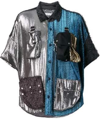 Julien David studded shirt