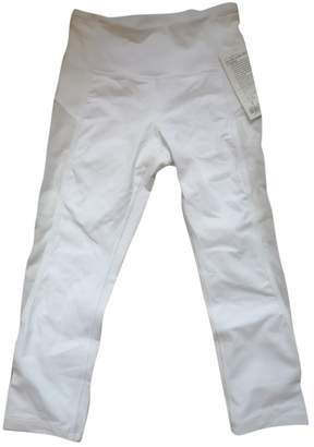 Lululemon White Trousers for Women