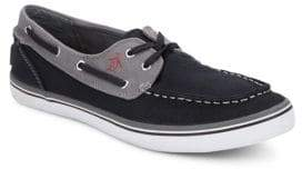 Original Penguin Catamaran Canvas Boat Shoes