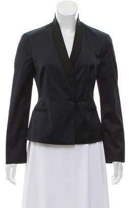 Philosophy di Alberta Ferretti Structured Satin Blazer
