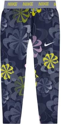 Nike Floral Logo Waist Leggings