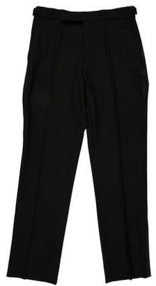 Ralph Lauren Black Label Wool Tuxedo Pants