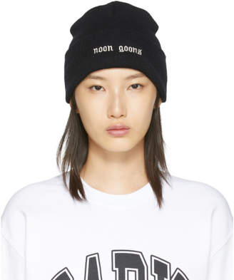 Noon Goons Black Schiridge Beanie