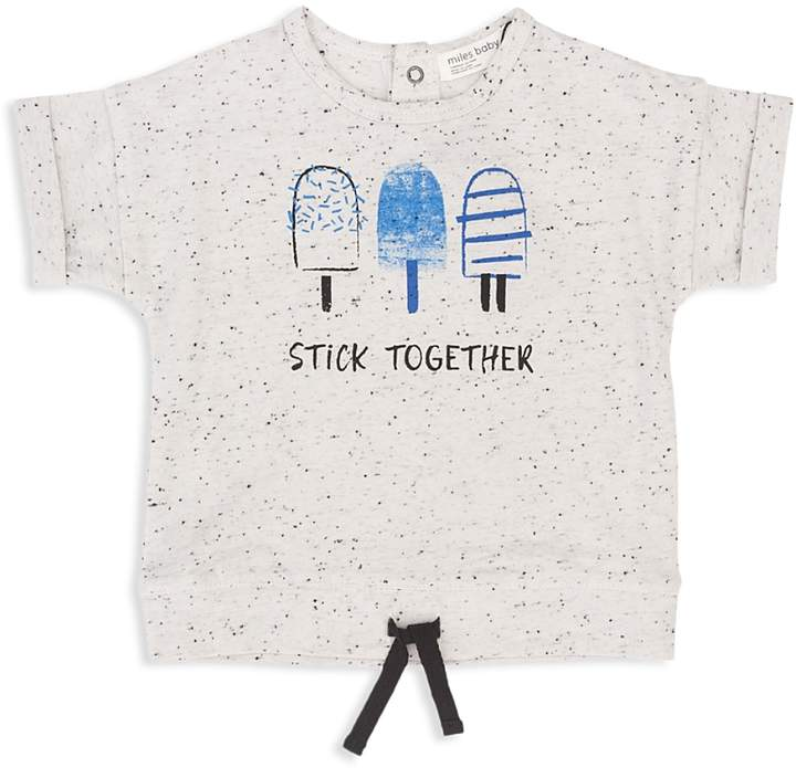 Miles Baby Boys' Drawstring Popsicle Tee - Baby