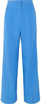 Roksanda Lapari Woven Wide-leg Pants - Azure