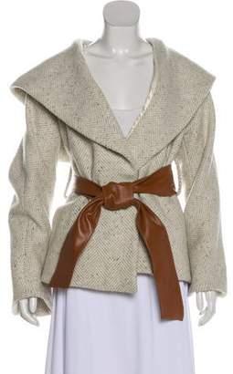 Smythe Virgin Wool Hooded Jacket