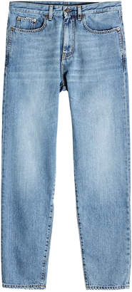 Saint Laurent Dirty Blue Slim Jeans