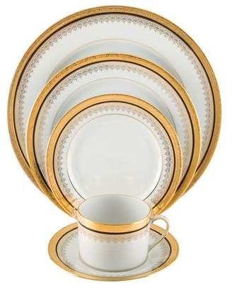 Neiman Marcus 60-Piece Limoges Imperial Noir Dinner Service