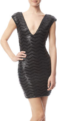 Haoduoyi Black Sequin Dress