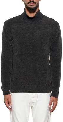 Paolo Pecora Dark Gray Wool Pullover
