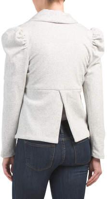 Puff Shoulder Blazer